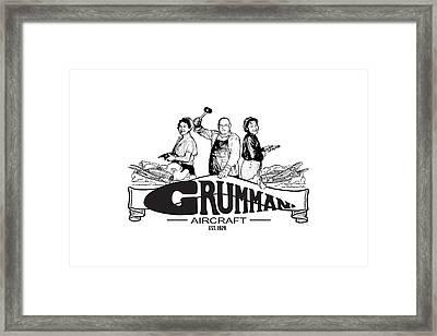 Grumman Aircraft Est 1929 Framed Print
