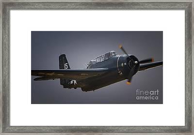 Grumman Tbf Avenger No.15 Framed Print by Gus McCrea