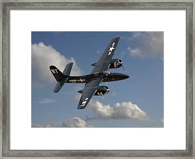 Grumman Tigercat Framed Print by Pat Speirs