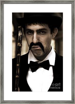 Grumpy Man Framed Print by Jorgo Photography - Wall Art Gallery