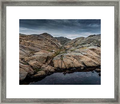 Grundsund, Sweden Framed Print by Martina Thompson