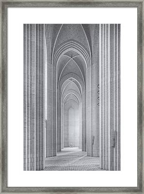 Grundtvigs Kirke Framed Print by Martin Fleckenstein
