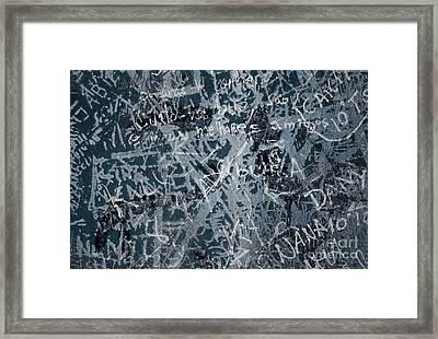 Grunge Background I Framed Print by Carlos Caetano