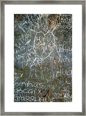 Grunge Background IIi Framed Print by Carlos Caetano