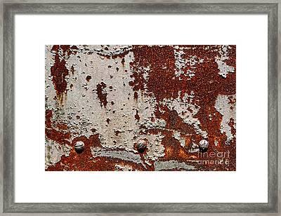 Grunging Framed Print by Olivier Le Queinec