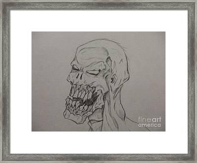Grunt Framed Print by John Prestipino
