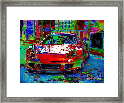 Gt Porsche Carrera Framed Print by Rogerio Mariani