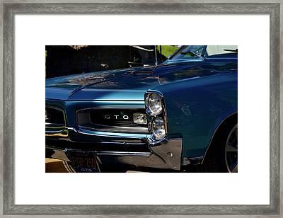Gto Detail Framed Print