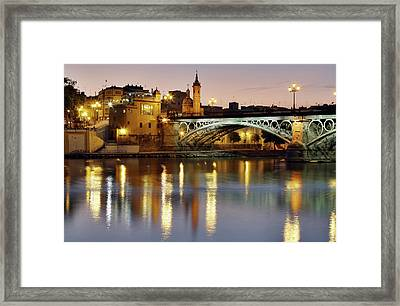 Guadalquivir Framed Print by Gustavo's photos