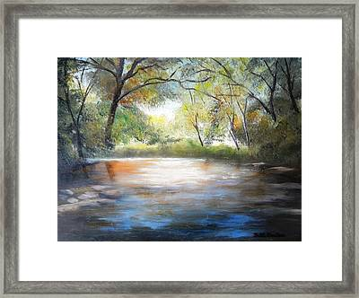 Guadalupe Glow Framed Print
