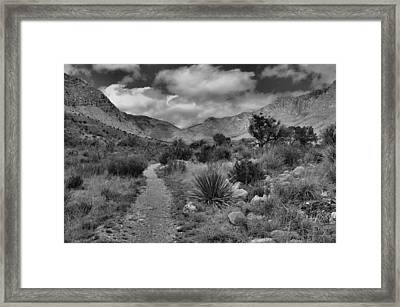 Guadalupe Mountains Morning Framed Print by Stephen  Vecchiotti