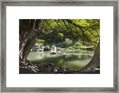 Guadalupe River Framed Print