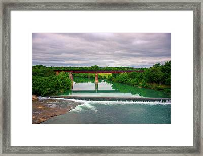 Guadeloupe River Framed Print
