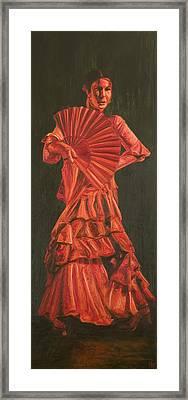 Guajiras Iv Framed Print by LB Zaftig
