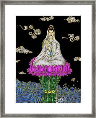 Guan Yin Framed Print