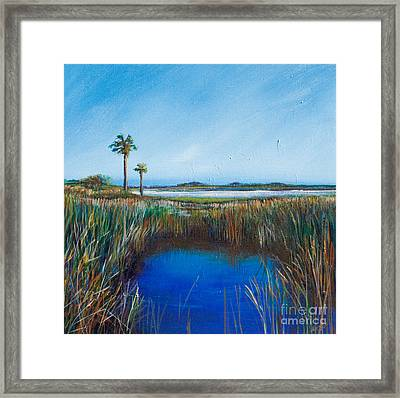 Guana River Lll Framed Print by Michele Hollister - for Nancy Asbell