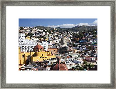 Guanajuato City Framed Print by Gloria & Richard Maschmeyer - Printscapes
