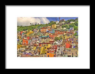 Guanajuato Framed Prints