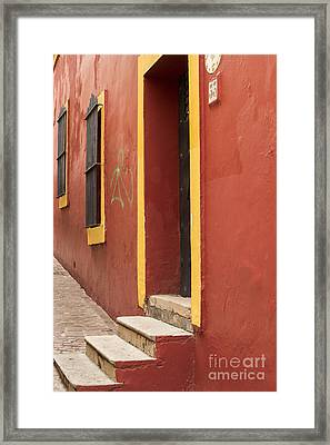 Guanajuato Mexico Colorful Building Framed Print by Juli Scalzi