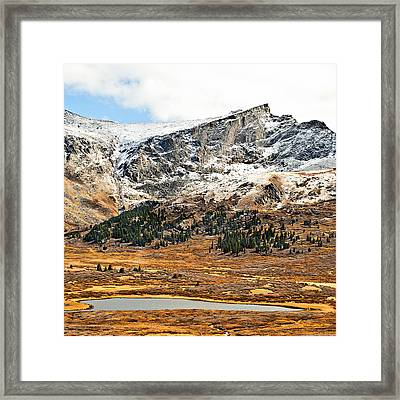 Guanella Pass Colorado Framed Print by Beth Riser
