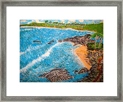Guanica  P R      Framed Print by Felix Zapata