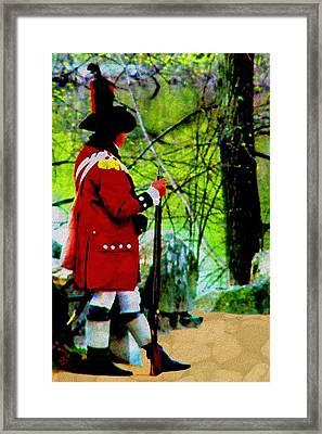 Guard Duty Framed Print