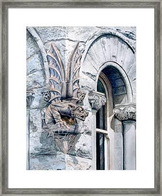 Guardian Angel Framed Print by Bob Nolin