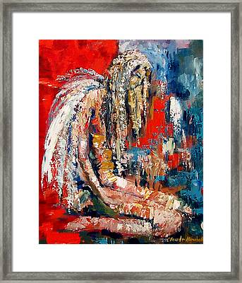 Guardian Angel Framed Print by Claude Marshall