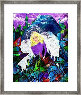 Guardian Angel Framed Print by Patricia Motley