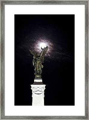 Guardian Angel Framed Print by Sarita Rampersad