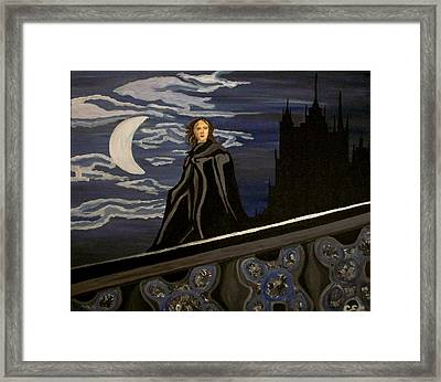 Framed Print featuring the painting Guardian by Carolyn Cable