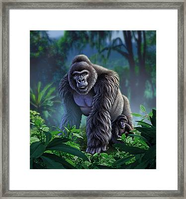 Guardian Framed Print