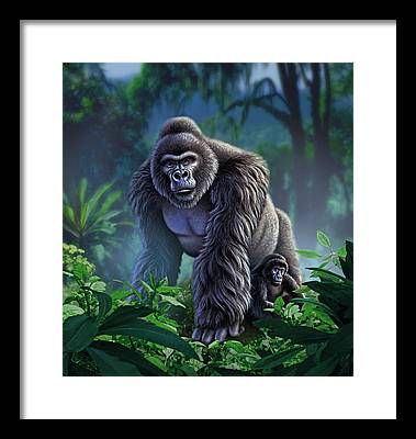 Jungle Framed Prints