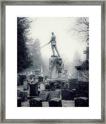 Framed Print featuring the photograph Guardian by Kendall McKernon