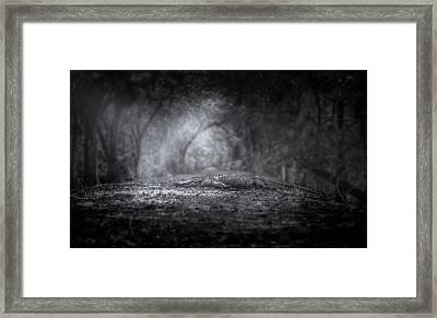 Guardian Of The Forest Framed Print by Mark Andrew Thomas