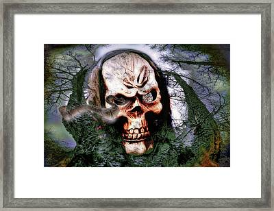 Guardian Of The Forest2 Framed Print by Pennie  McCracken