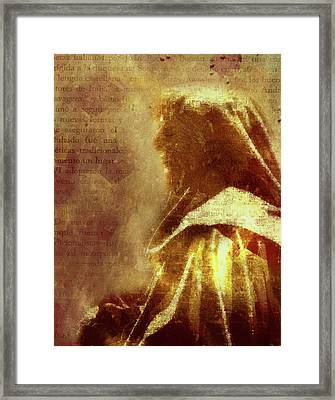 Guardian Of Your Heart Framed Print by Georgiana Romanovna