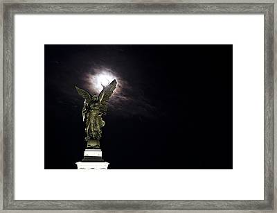 Guardian Framed Print by Sarita Rampersad