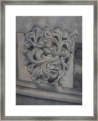 Guardian Framed Print by Tracey Costescu