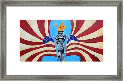 Guardian's Of Liberty Framed Print