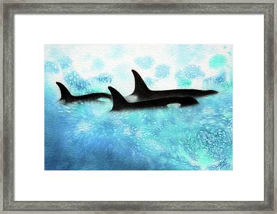 Guardians Framed Print by Robin Street-Morris