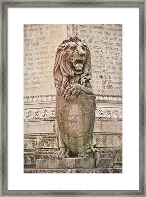 Guarding Savannah Framed Print by JAMART Photography