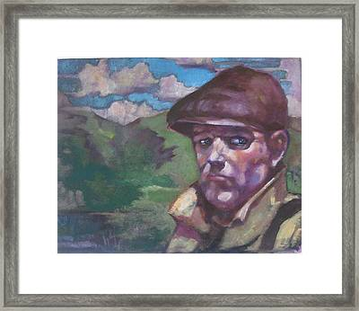 Guarding The Mountain Pass Framed Print by Kevin McKrell