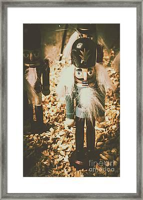 Guards Of Nutcracker Way Framed Print