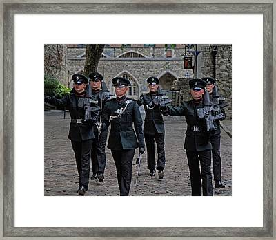 Guards Framed Print