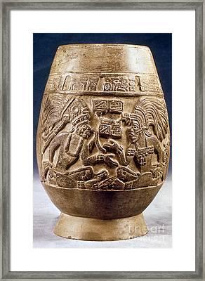 Guatemala: Mayan Vase Framed Print by Granger