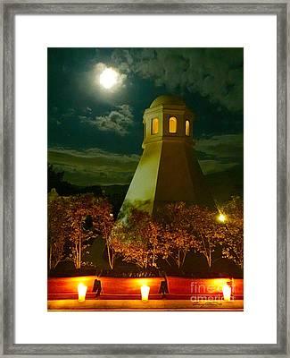 Guatemala Night Framed Print