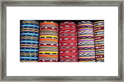 Guatemalan Textiles 2 Framed Print