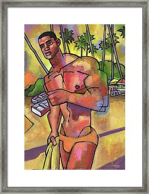 Guayacanes Framed Print by Douglas Simonson