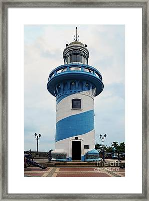 Guayaquil Lighthouse Framed Print by Catherine Sherman